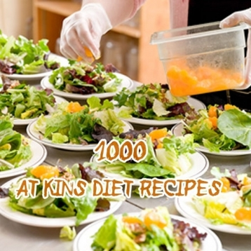 1000 Atkins Diet Recipes