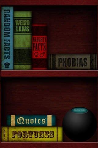 10,000 Things Bookshelf (iPhone)