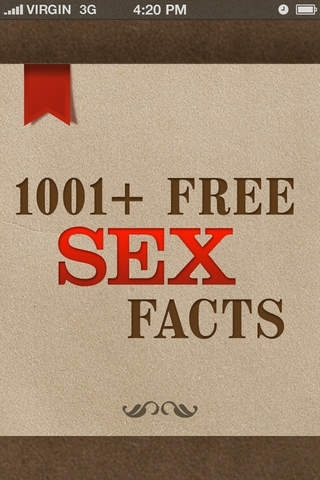 1001+ FREE Sex Facts - Interesting, Funny, Informative