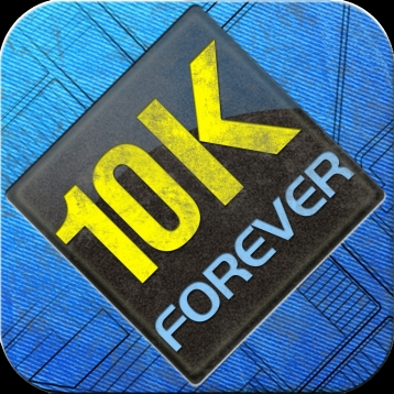 10K Forever: 10K pace training. 10K Runner - run faster.