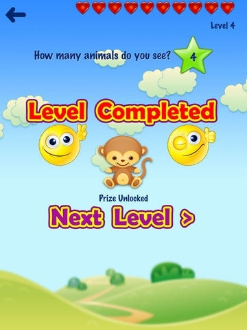 123 Animals Counting HD - for iPad