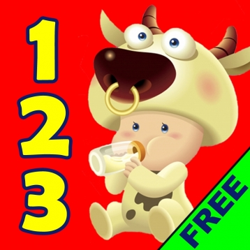 123 Animals Kids Counting Lite Free