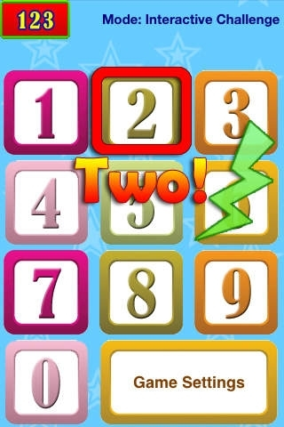 123 Audio Talking Baby Learning Numbers Game
