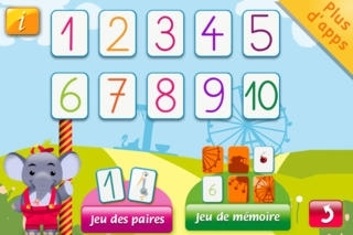 123 rigolo J'apprends les nombres HD