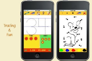 123 Tracing and more - counting, number games, math for kids