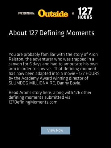 127 Defining Moments
