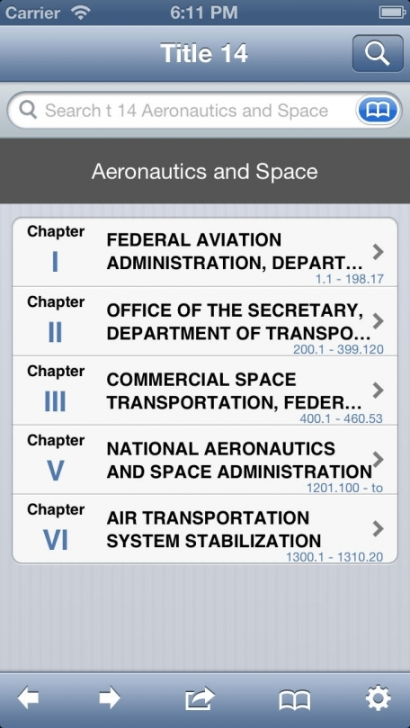 14 CFR - Aeronautics and Space (Title 14 Code of Federal Regulations)