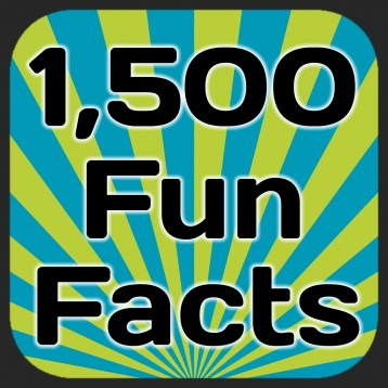 1,500 Fun Facts. Cool, Weird, Strange and Informative