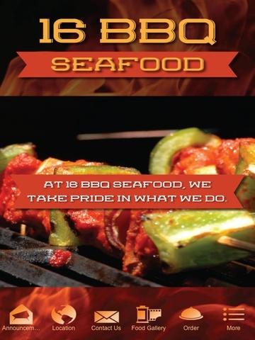 16 BBQ Seafood