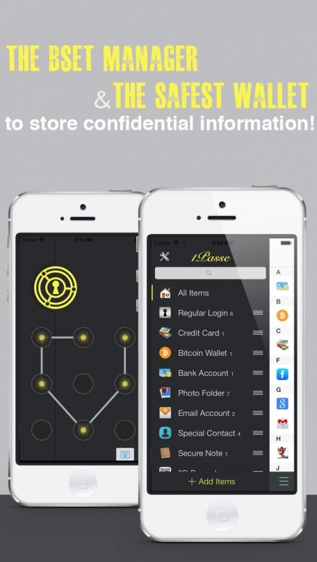 1Passe - Password Manager & Free Secure Account.s Wallet App.s