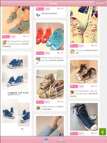 Cloth Shoes In