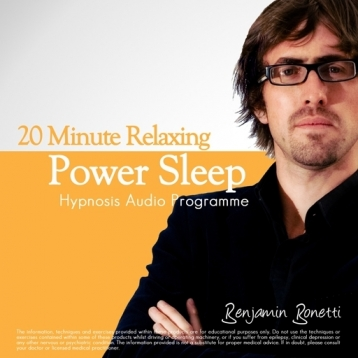 20 Minute Deeply Relaxing Sleep With Hypnosis - Ideal refreshment for Lunch Breaks, Short Trips or Part Of Enhanced Wellbeing.-Benjamin Bonetti