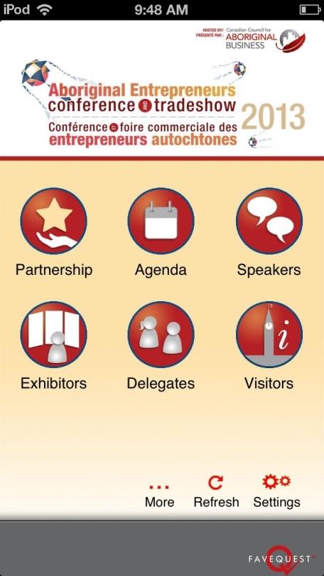 2013 Aboriginal Entrepreneurs Conference and Tradeshow