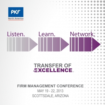 2013 PKF NA Firm Management Conference