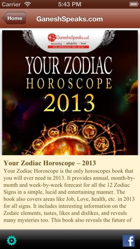 2013 Zodiac Horoscope
