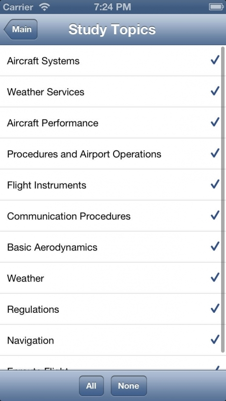 2014 FAA Test Prep - Private Pilot (PVT)