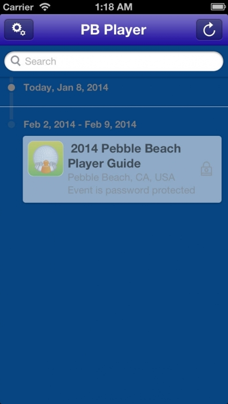 2014 Pebble Beach Player Guide