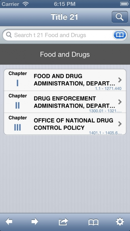 21 CFR - Food and Drugs (Title 21 Code of Federal Regulations)