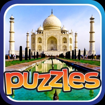 Seven Wonders Of The World Puzzle - Explorers Of Empire Builders, Free Flow Bridges, Castles, Palaces, United State Cities and Home Of The Heros Around The World