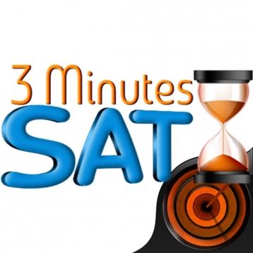 3 Minutes SAT