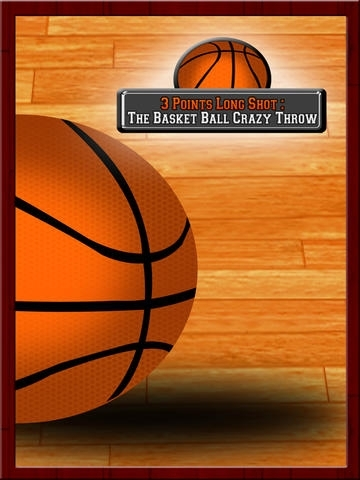 3 Points Long Shot : The Basket Ball Crazy Throw - Free Edition