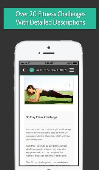 30 Day Fitness Challenges