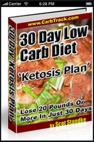 30 Day Low Carb Diet 'Ketosis Plan'