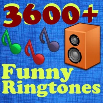 3600 Amazing Ringtones funny collection