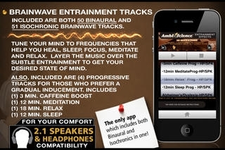 100 Binaural Beats and Isochronic Tones! | AmbiScience™