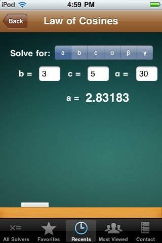 39-in-1 Geometry & Trigonometry Calculator