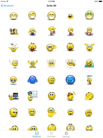 3D Animated Emoji PRO + Emoticons - SMS,MMS,WhatsApp Smileys Animoticons Stickers