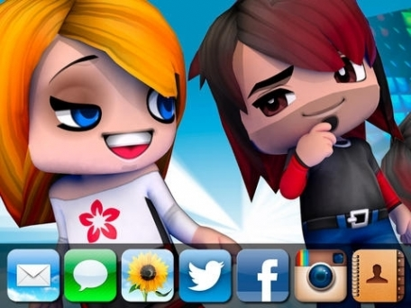 3D Avatar Creator - Send Animated BuddyPoke Emoji and Pictures to friends