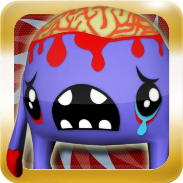 3D Bloody Brain Monsters – Cool Virtual Pet Monsters