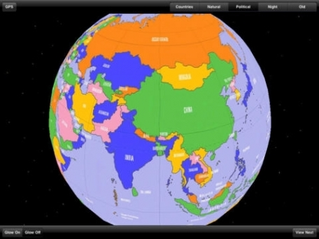 3D Globe - World Atlas