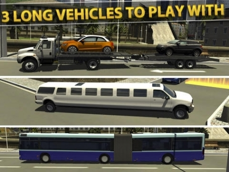 3D Impossible Parking Simulator - Real Limo and Monster Car Driving Test Racing Games Free