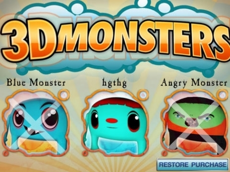 3D Monsters - Virtual Monsters Interactive Pets