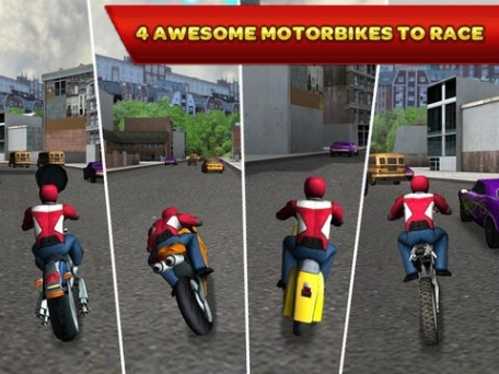 3D Motor Bike Rally Crazy Run - Offroad Escape from the Temple of Doom Free Racing Game