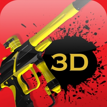 3D Paintball Gun Builder