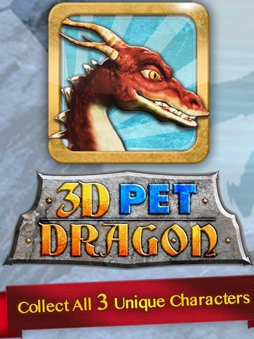 3D Pet Dragon - Play with Dragons