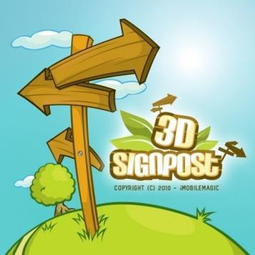 3D Signpost