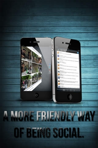 3D Social for Facebook, Twitter & Google+