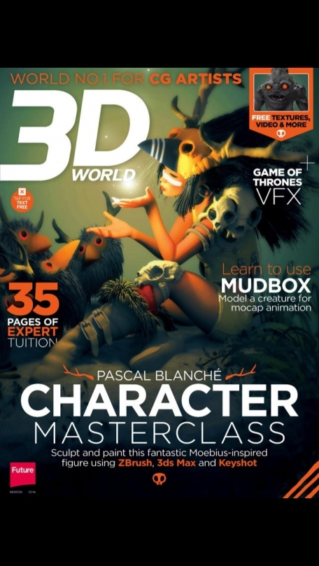 3D World: CG tutorials and tips for animation, VFX and games artists
