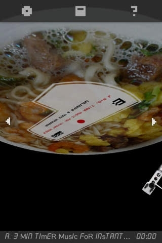 3MIN TIMER MUSIC For INSTANT NOODLE - Delaware & Tota Hasegawa (Re<ords010)