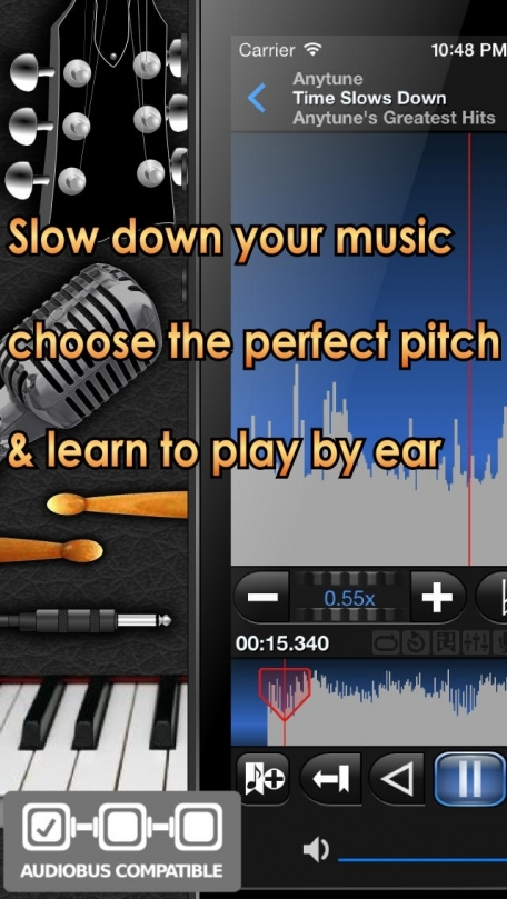 Anytune for Existing Anytune Pro Customers - Choose the Perfect Pitch.