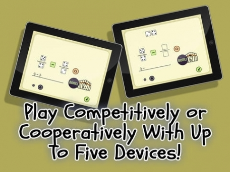 4 Dice a Fractions Game