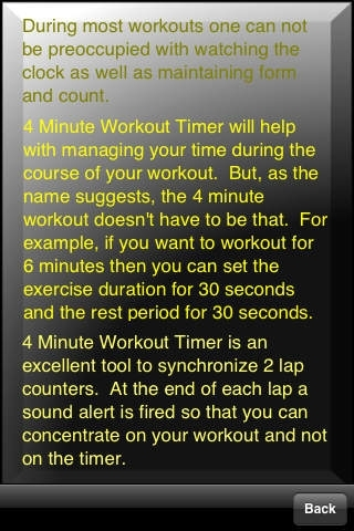 4 Minute Workout