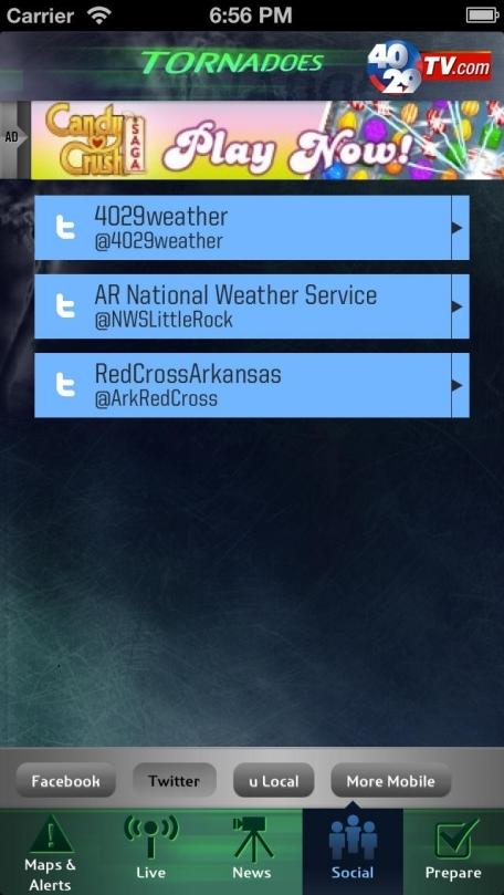 40/29 Tornadoes - Northwest Arkansas