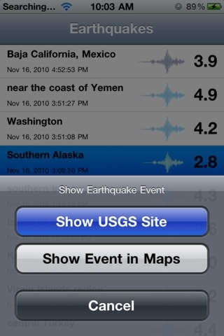 Earthquakes +