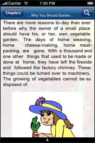 Home Vegetable Gardening .