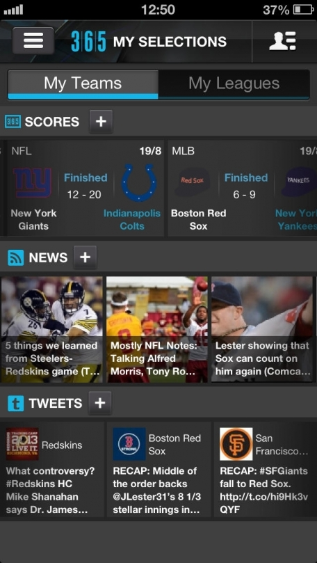 365Scores – Sports Live Scores, Results & News